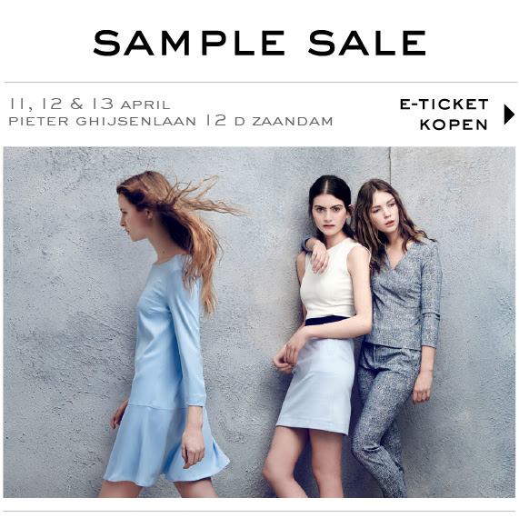 Vanilia Kleding.Aankondiging Fantastic Vanilia Sample Sale Sample De Dag Sample