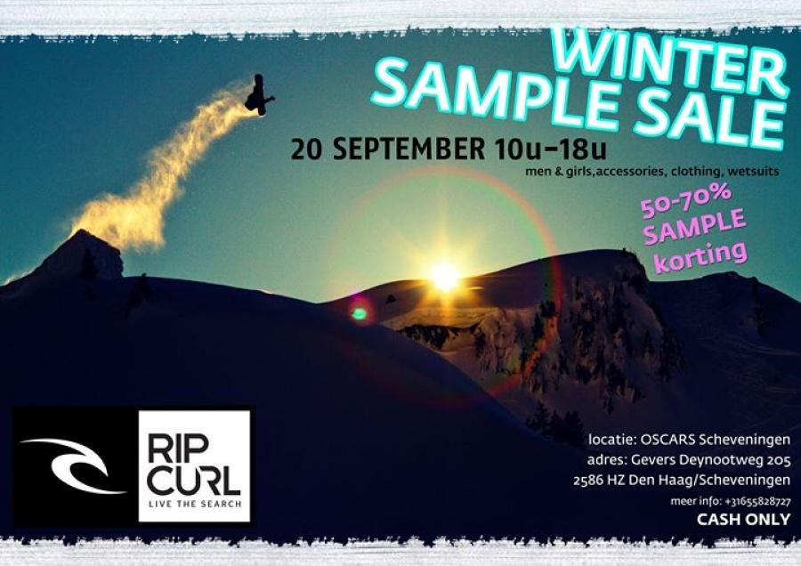 Announcing Sample Sale: Ripcurl, get your surf on! | Sample de Dag ...